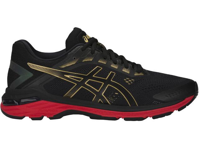 asics GT-2000 7 Shoes Men, black/rich gold